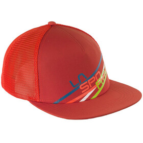 La Sportiva Stripe 2.0 Trucker Hat Flame/Brick